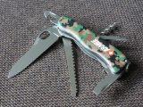 Victorinox Armee one-handed Trekker with corkscrew