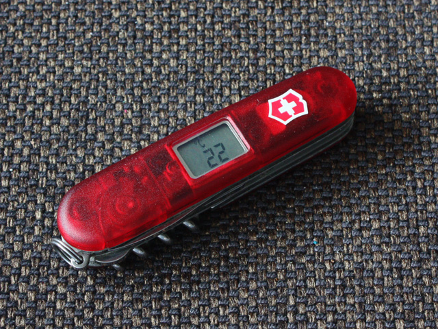 Victorinox Altimeter - thermometer mode