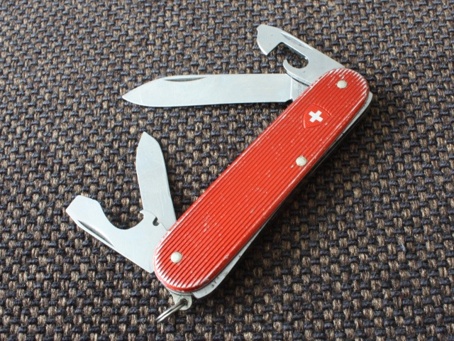 Victorinox red alox Cadet II