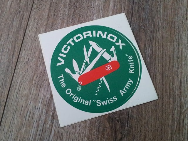 Victorinox sticker from I think the 1970s
