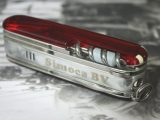 Victorinox SwissFlame with advertising (company logo on lighter)