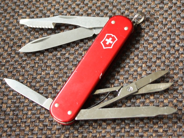 Victorinox Executive - smooth red alox