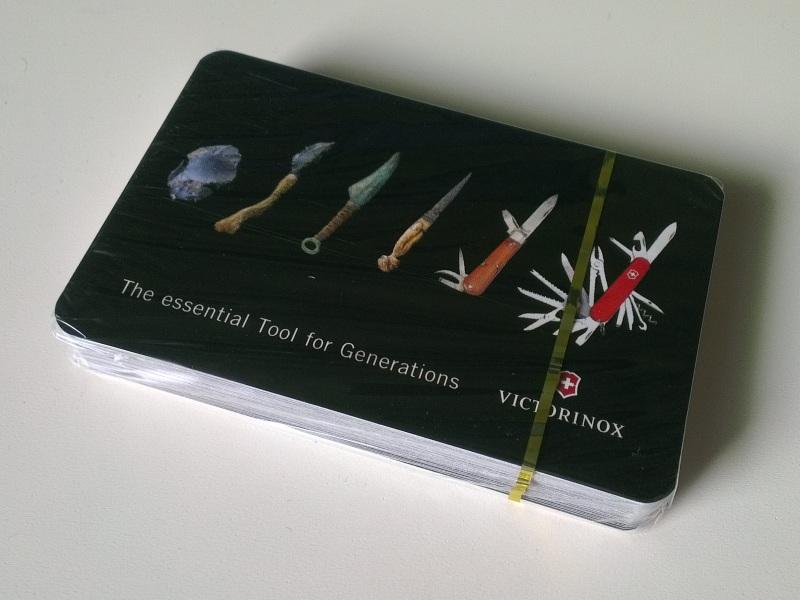 Victorinox Playing Cards
