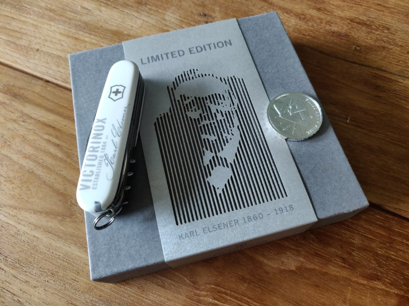 Victorinox Limited Edition Karl Elsener Coin Set